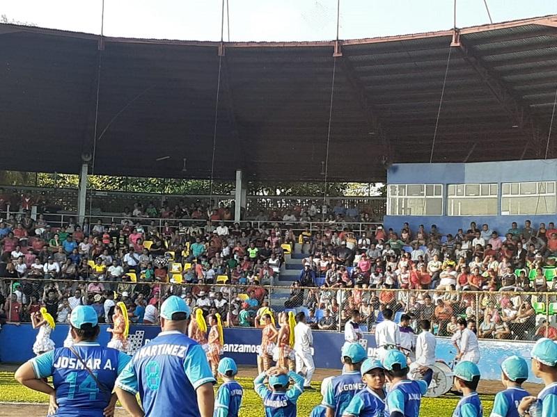 En la inauguración del estadio rehabilitado Efraín Tijerino de Chinandega