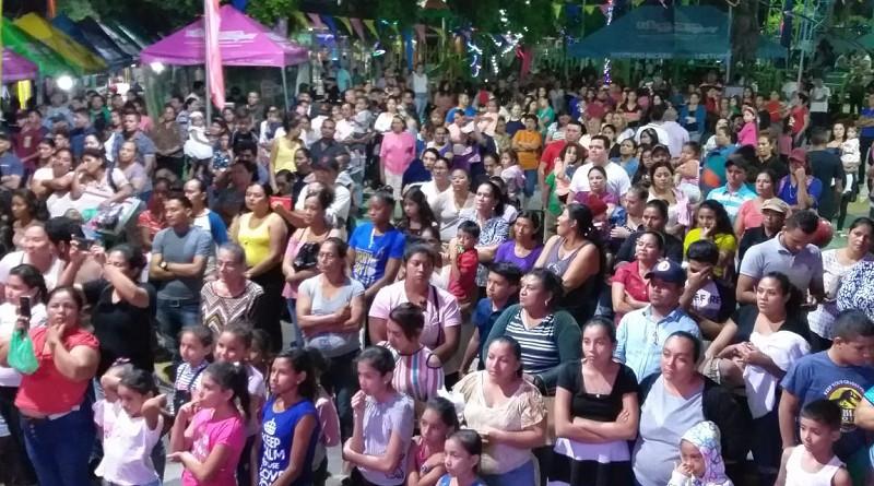En Amor a Nicaragua Granada y Masaya llevan su tradición y cultura a Sébaco
