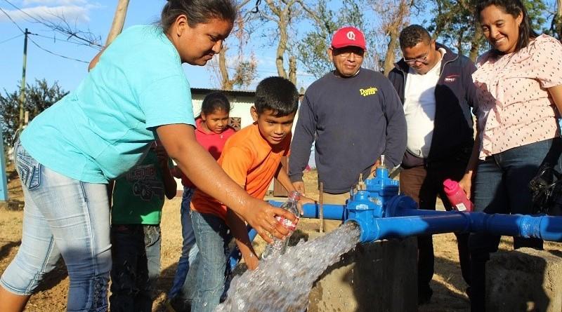 En responsabilidad compartida, más proyectos de agua para las familias en 2020