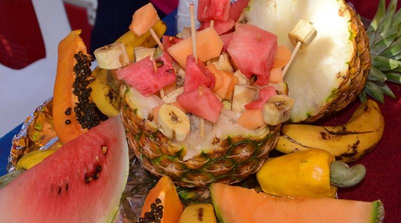 Las frutas tropicales son también protagonistas de los festivales