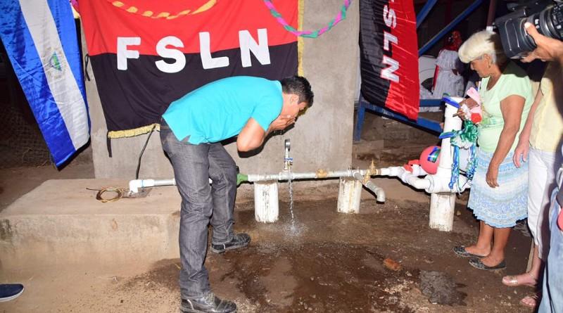 Familias de Ojo de Agua # 2 en Nagarote tienen agua potable