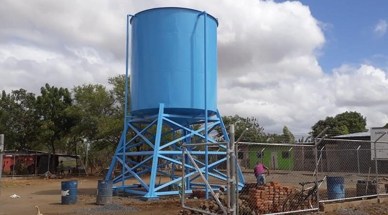 Tipitapa. Sistema de agua potable recién construído
