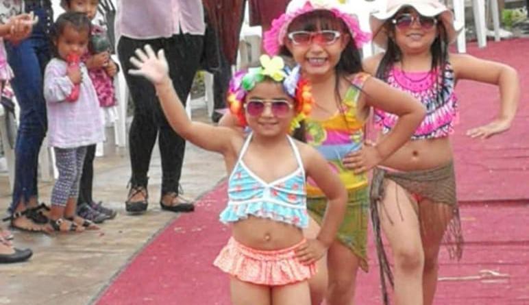 En la elección de Chica Verano 2020 en Jinotega también se eligió a la más chiquita