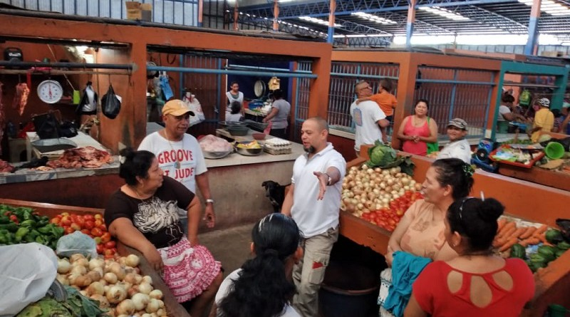 En el mercado de Chichigalpa