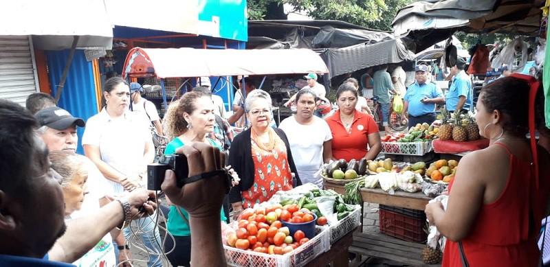 """En el mercado """"El Bisne """"en Chinandega"""
