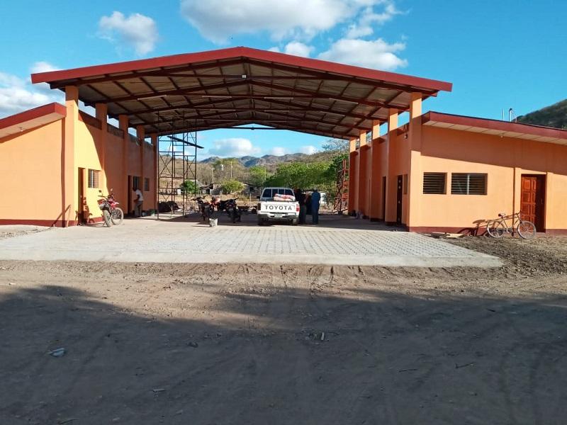 Estación de bomberos en San Juan de Limay