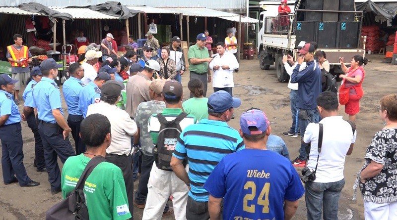 En el mercado de Matagalpa