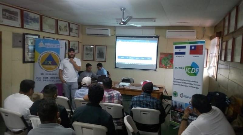 Responsables de gestión de riesgo de  los 14 municipios del departamento de Matagalpa con representantes de Sinapred