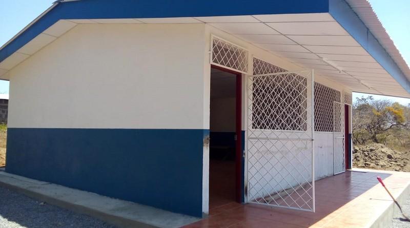 Escuela de Santa Teresa a la cual el gobierno local construyó una sala de clases