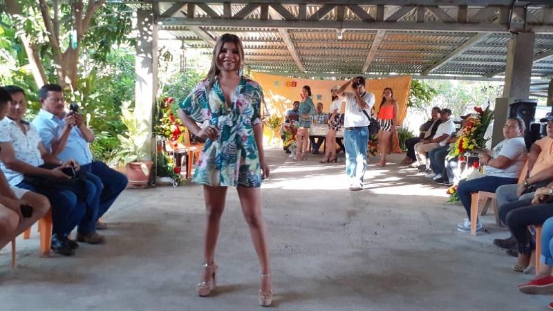 Elección de miss verano en Somotillo