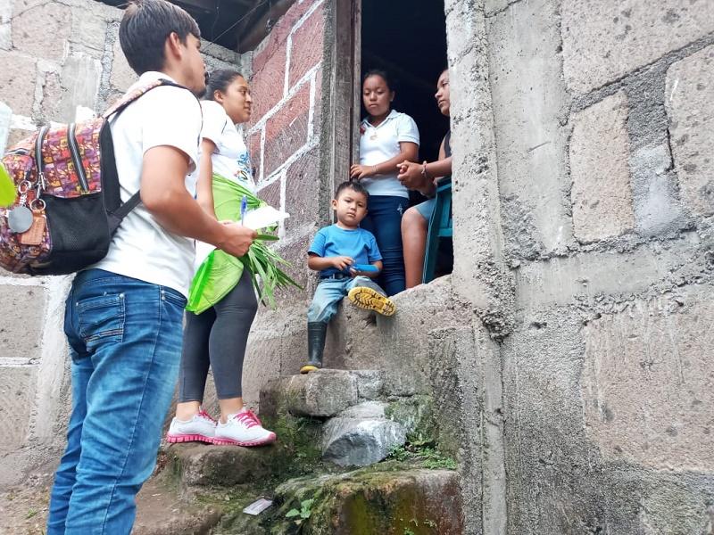 En Boaco sensibilizando a las familias