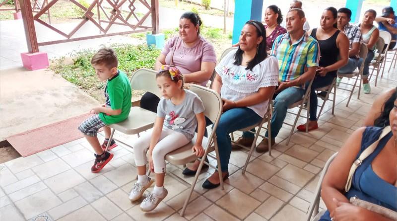 Lanzamiento de escuela de oficio en Diriomo
