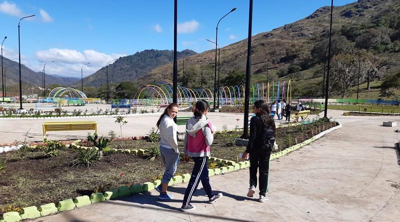 Parque  gran atractivo en Jinotega encabeza obras a inaugurar esta semana
