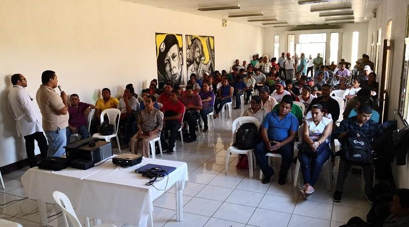 Waslala. Capacitación del Minsa para llevar el mensaje de precuación y medidas a  adoptar a las familias en visitacasa por casa