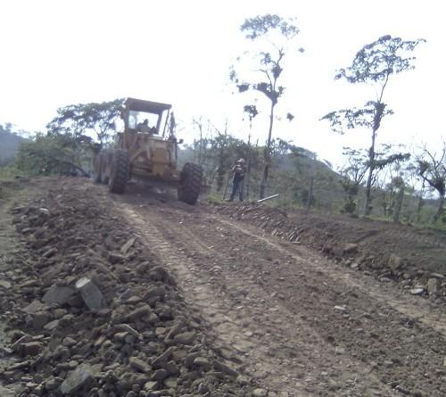 Mantenimiento camino productivo Muhan-Las Pavas 2 en Villa sandino