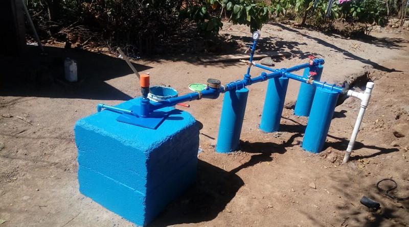 En la comunidad Los Limones en Somotillo, nuevo sistema de agua potable