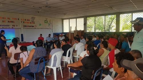 Morrito: Primera asamblea de rendición de cuentas del Comité de Agua Potable  y Saneamiento (Caps) Bendición de Dios  de  la comunidad  Sincoyal