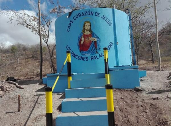 Sistema de agua potable de la comunidades Los Rincones en Palacaguina