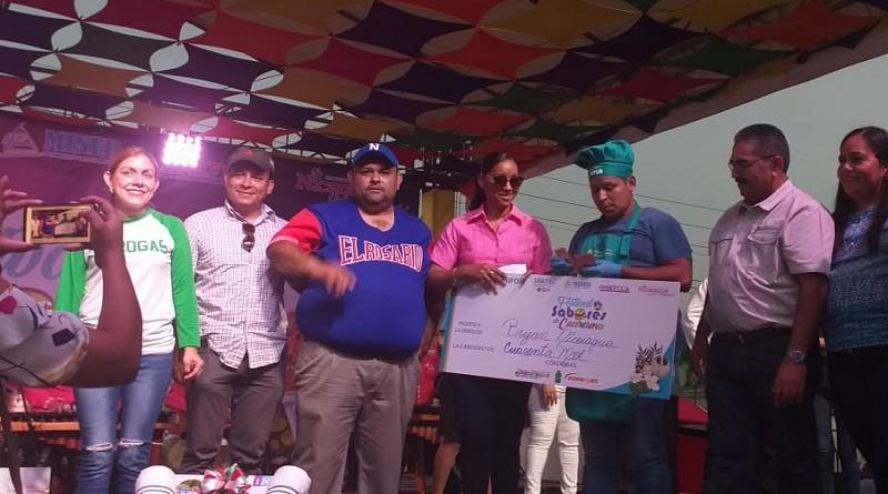 Bryan Nicaragua  de El Rosario, con su sopa de queso con gaspar y sardinilla llevó a Carazo al primer lugar