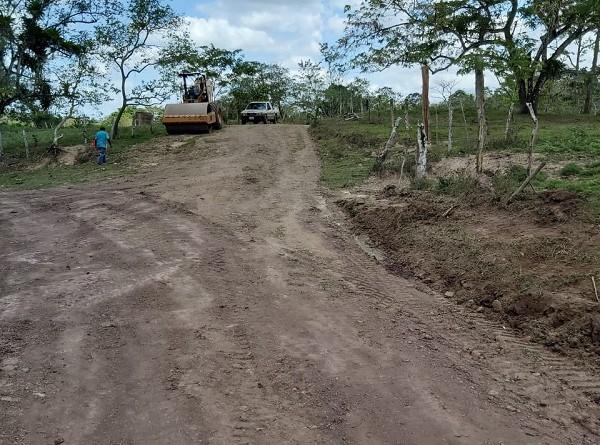 Camino El Bejuco-La Chinela en Villa Sandino