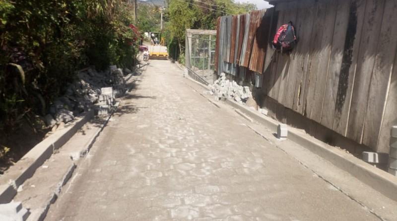 En Matagalpa se construyeron dos calles en el barrio El Tule .