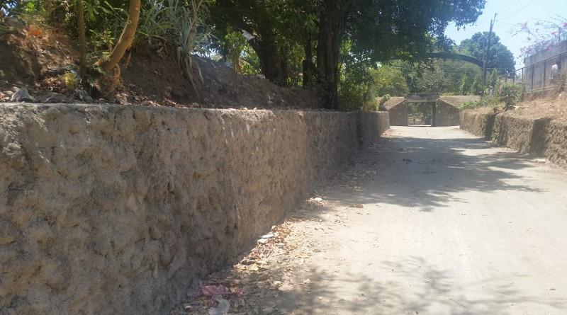 En Chinandega se rehabilitaron dos kilómetros de camino en la comunidad San Benito.
