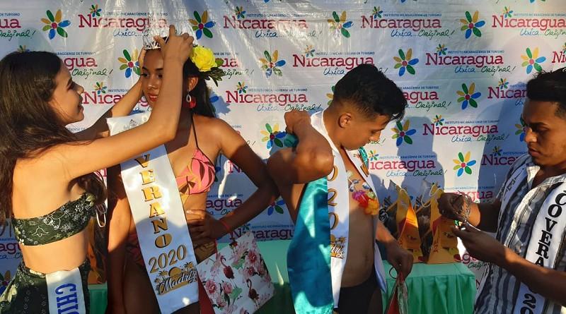 Coronación de Chica Departamental Madriz