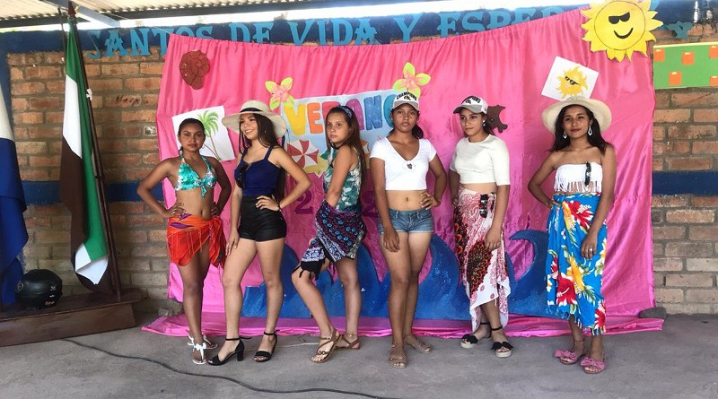 En Larreynaga candidatas a Chica verano en concurso