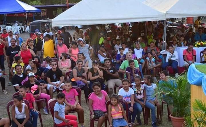 Público asistente en elección de Chica Verano Nagarote