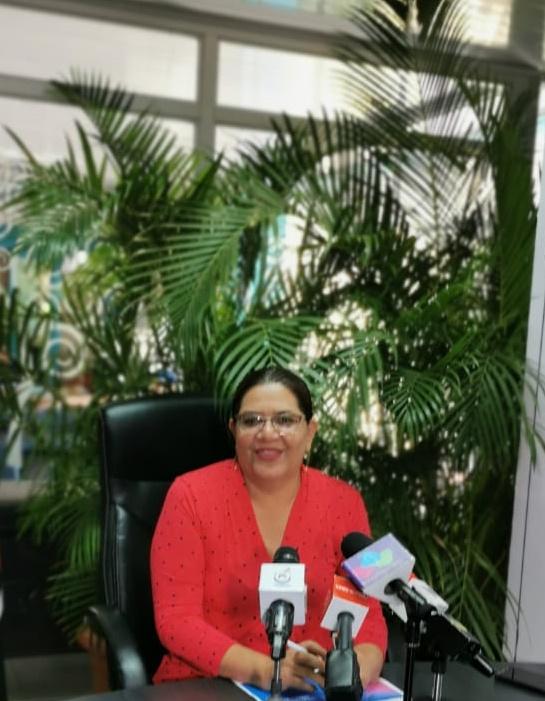 Guiomar Irías, presidenta ejecutiva de Inifom