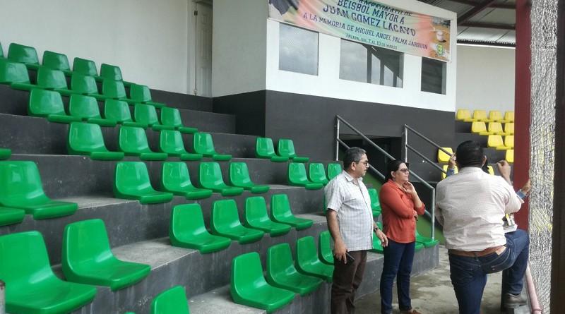 Uno de los estadios de Jalapa