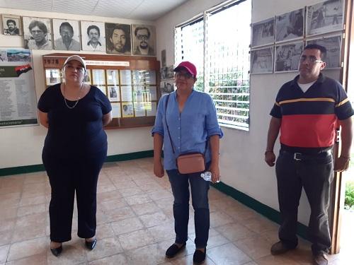 Galería Héroes y Mártires de la Revolución que encierra la historia de 32 personas que ofrendaron sus vidas por la Revolución