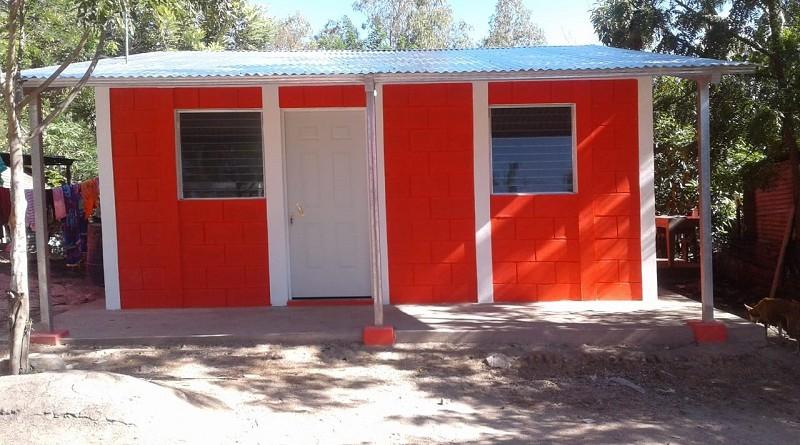 Una de las diez casas de interés social entregadas a familias de la comunidad Las Pilas, La Concordia en diciembre pasado