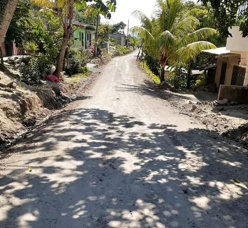 En Río Blanco, una de las ocho calles rehbilitadas