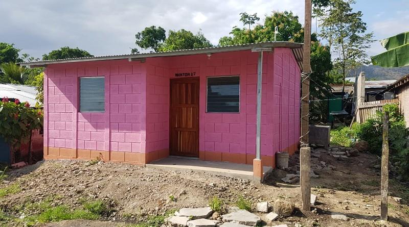 Doce casas para las familias en  barrios y comunidades de Matiguás