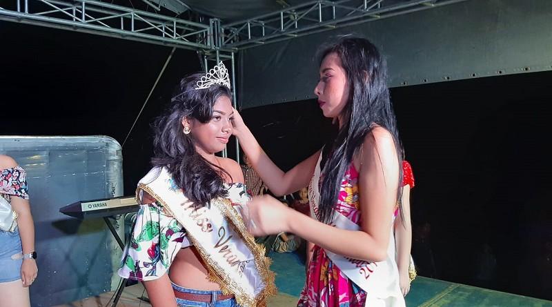 Coronación de la reina Verano del municipio de La Paz Centro