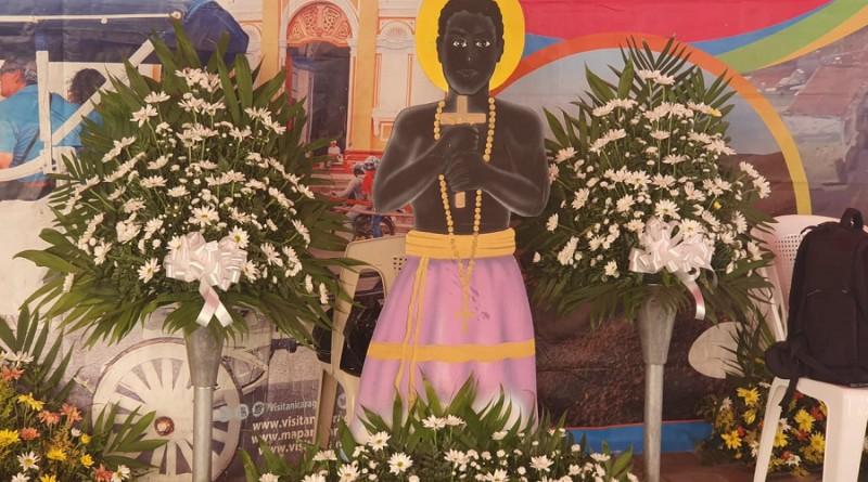 Una vez más INTUR  compartió la chicha con devotos de San Benito