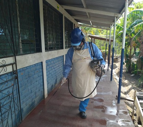 En una escuela de San Juan del Sur