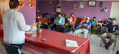 San Miguelito: Encuentro con transportista y cooperativas para dar a conocer las medidas de prevención contra el coronavirus en parada de buses y medios de transporte