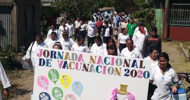 En lanzamiento de jornada de vacunación en Boaco