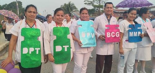 Lanzamiento de jornada de vacunación en Rosita