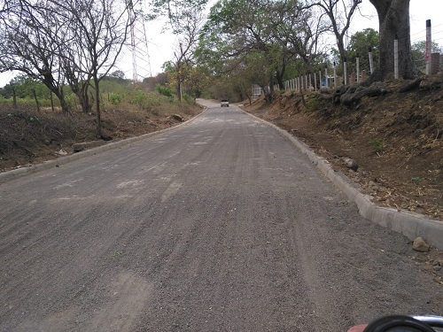 Otra calle en Villa El Carmen
