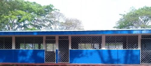 Centro escolar de la comunidad Los Cerritos  en Morrito
