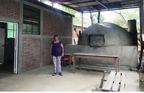 Uno de los talleres de elaboración de rosquillas en Yalaguina