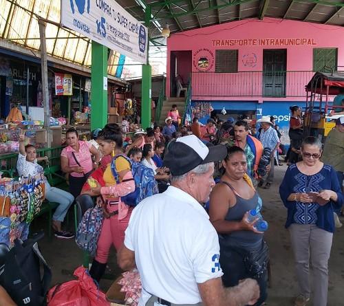 Mercado de Nueva Guinea