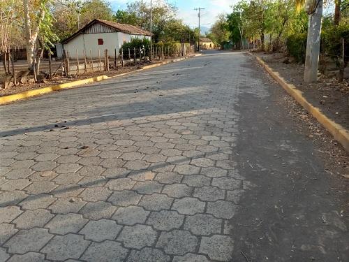 Calle en Larreynaga