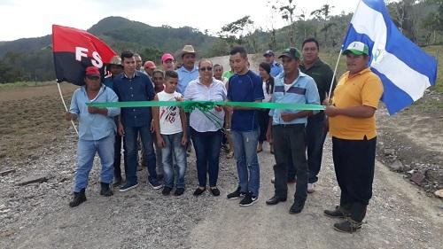 Villa Sandino: Mantenimiento de 8 kilómetros de camino rural ruta Muhan-Piedra Fina-Las Pavas #2