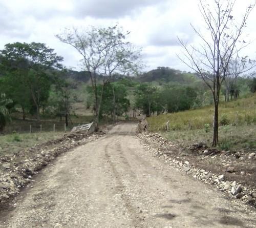 Camino a Las Paces en Villa Sandino