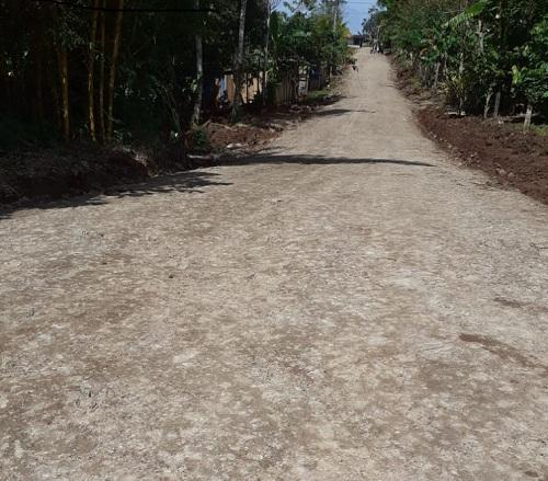 Tramo San Miguel Las Letrinas en Nueva Guinea fue rehabilitado