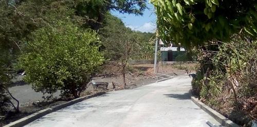 Calle en Moyogalpa construida